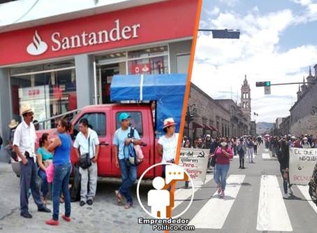 Atención Michoacán: Mañana serán bloqueadas sucursales de bancos por maestros de la CNTE