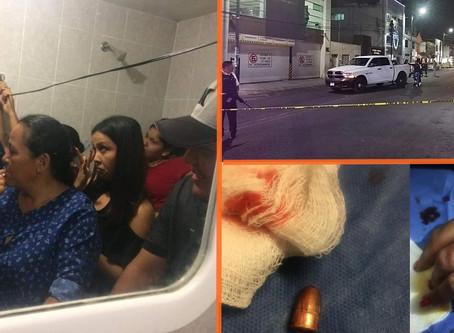 Familia de #Apatzingán se oculta en baño durante festejos de año nuevo para evitar balas perdidas