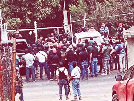 Población de Tancítaro cierra sus fronteras a la delincuencia ¿Autodefensas?