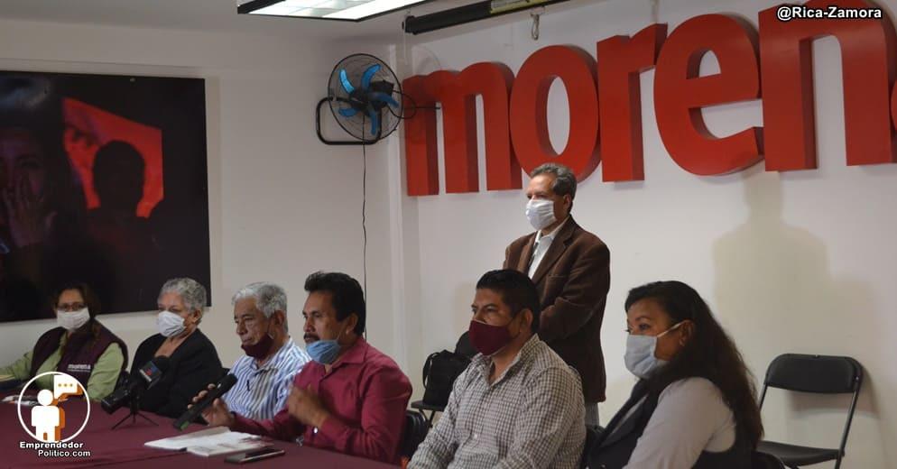 CEE de Morena señala que Yeyo Pimentel ni esta afiliado y carece de atribuciones en Morena