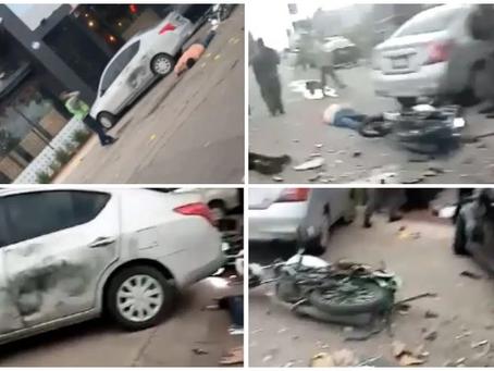 Terroristas dejan caja con explosivos en un local, en Guanajuato. Al menos 2 muertos
