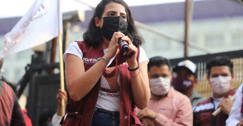 Conservadores no le van a ganar al pueblo y llegará la 4T a Michoacán: Giulianna Bugarini