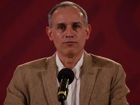 López-Gatell da positivo en prueba de COVID-19, tiene síntomas leves