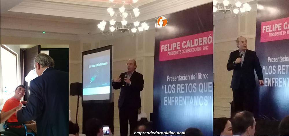 #Morelia: Felipe Calderón destaca logros de su gobierno durante la presentación de su libro