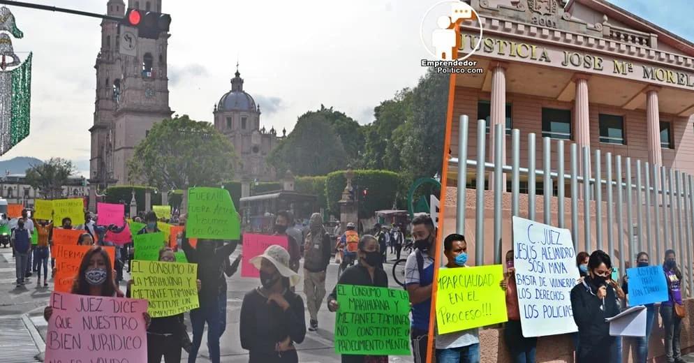 Familia y compañeros de los policías detenidos por el Caso Julin piden imparcialidad y transparencia