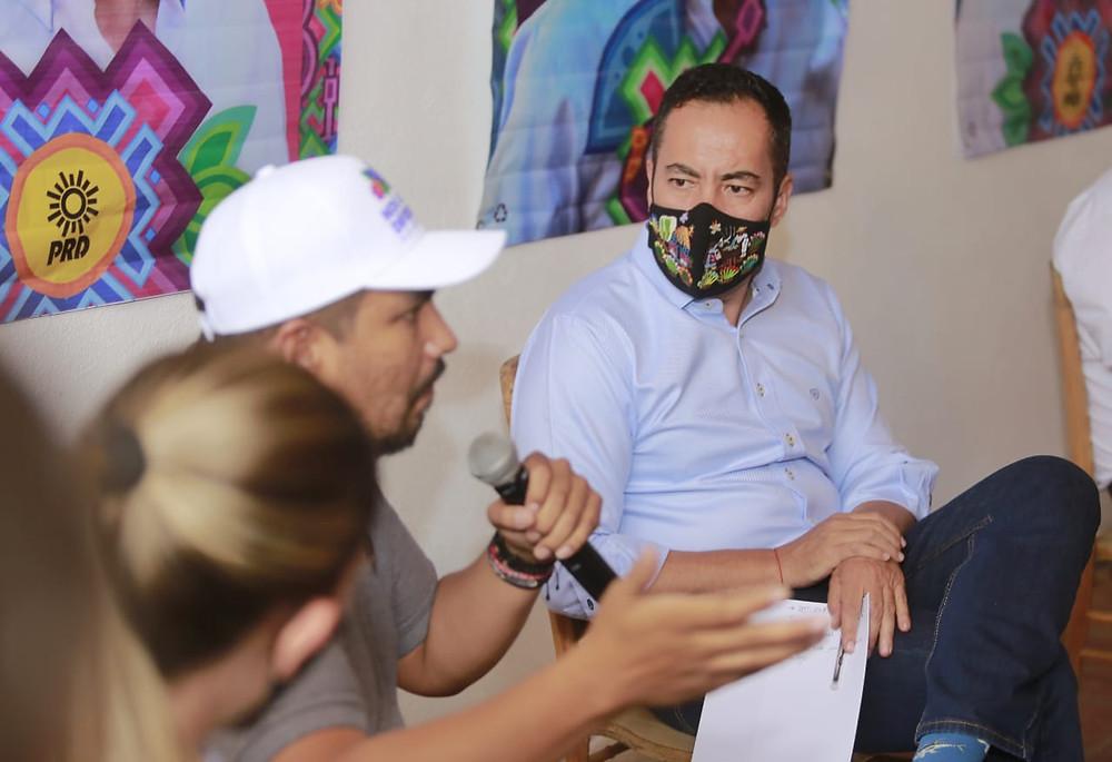 Carlos Herrera el candidato de la inclusión; se reúnes con liderazgos del sector con discapacidad