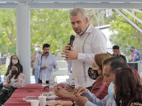 Michoacán está abandonado, y junto con la federación vamos a rescatarlo: Bedolla