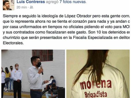 Edil que arrestó a menores de edad busca reelección en Churintzio