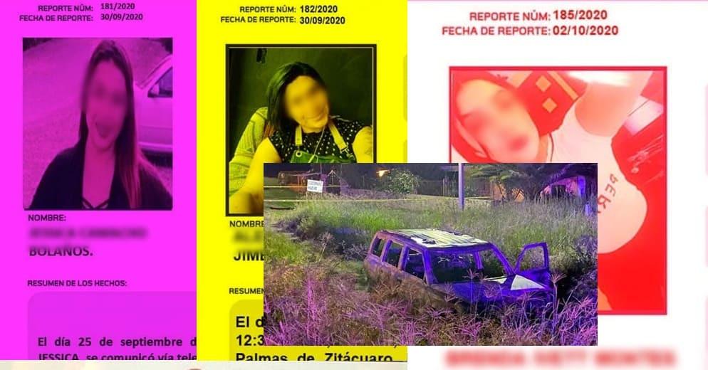 Familiares de 3 michoacanas desaparecidas solicitan agilización de entrega de cuerpos