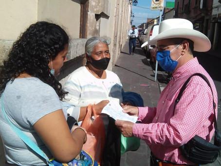 Reitera Salvador Arvizu ser un aliado de la gente y trabajar en pro de las y los michoacanos