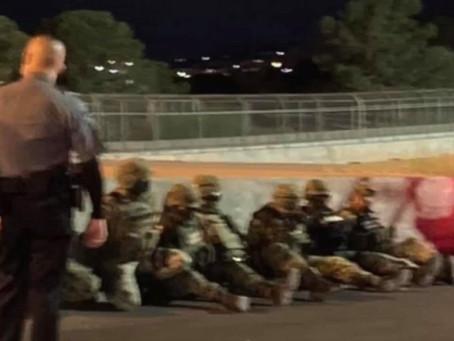 Detienen en EU a 7 soldados mexicanos que cruzaron la frontera