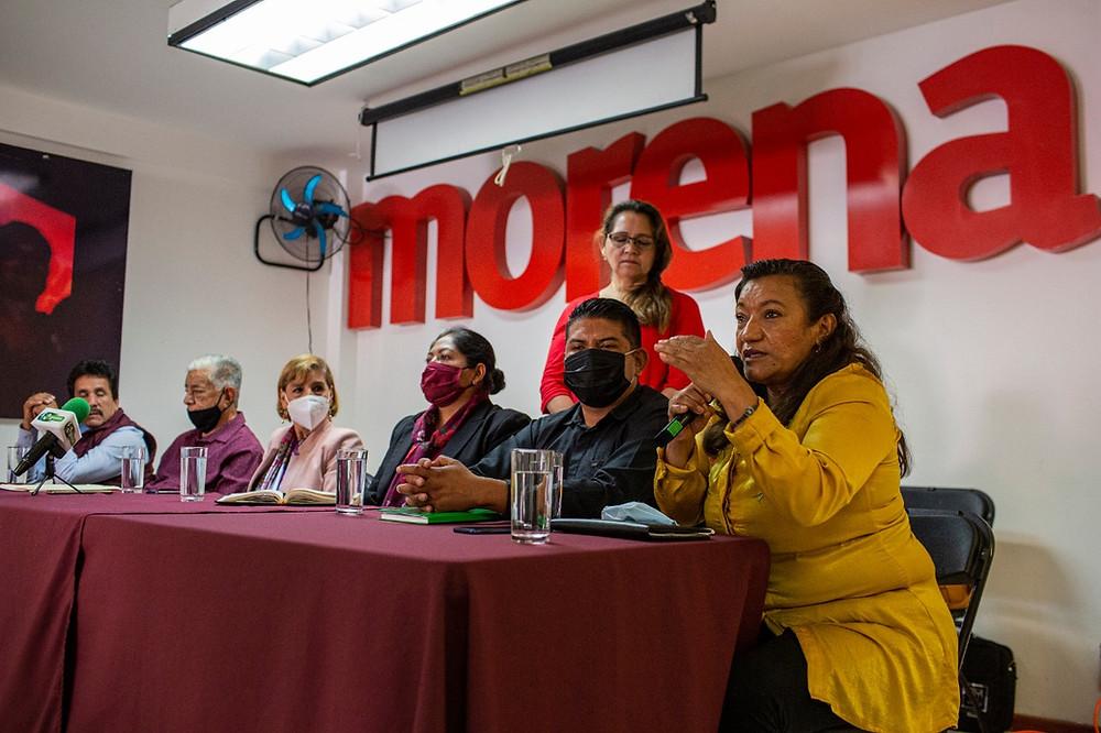 Dar cuentas claras a la ciudadanía y eliminar todo indicio de corrupción: María Chávez sobre Morena