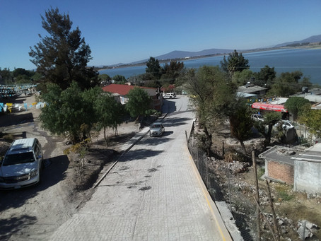 Acámbaro: Culminan pavimentación de vialidad en la comunidad de San Miguel Arcángel