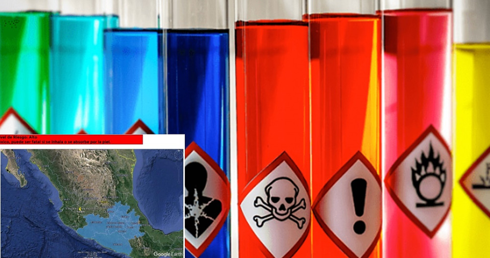 #Michoacán entre los estados de alerta por Cargamento  de químicos muy tóxicos robado en Edomex