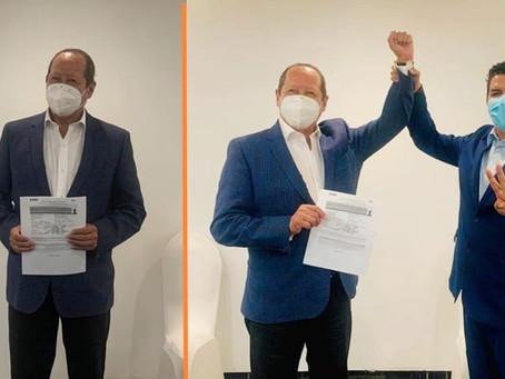 Leonel Godoy se registra como candidato a diputado federal; la carta fuerte de la 4T en Michoacán