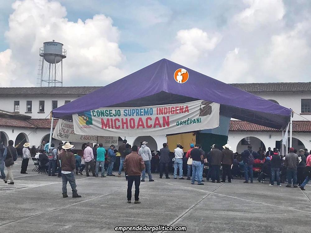 Concejo Indígena destapa conflicto de intereses en Bienestar Paracho