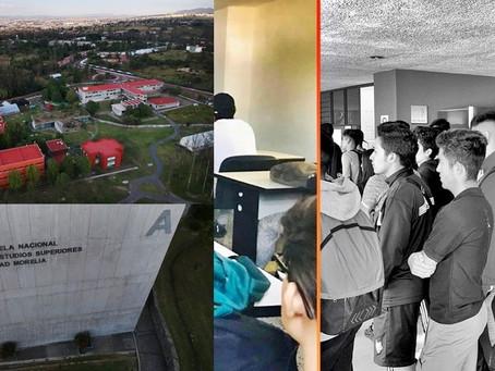 Comunidad de la Enes UNAM Morelia se molestó por que si tendrán clases mañana 17 de marzo