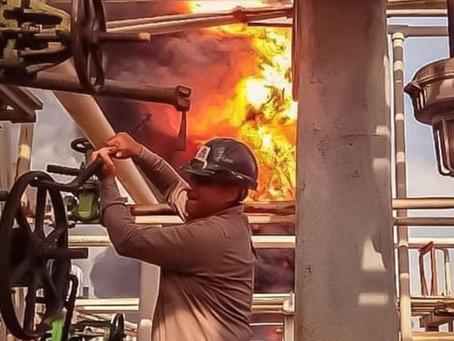 El hombre que arriesgó su vida para evitar que incendio en una refinería de Pemex saliera de control