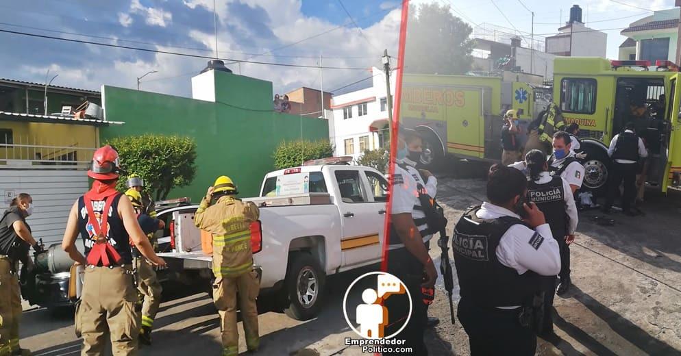 Explosión de cilindro de gas causó pánico y dejo un herido en la Felix Ireta (+Video+Fotos)