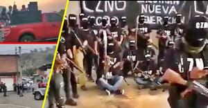 Se mantiene crecimiento acelerado del narcovirus en Michoacán y retan al ejército (+Videos)
