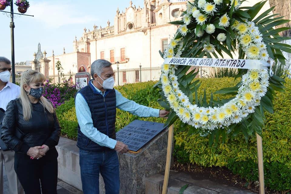 Cristóbal Arias busca reabrir caso del atentado del 15-S ocurrido en el 2008