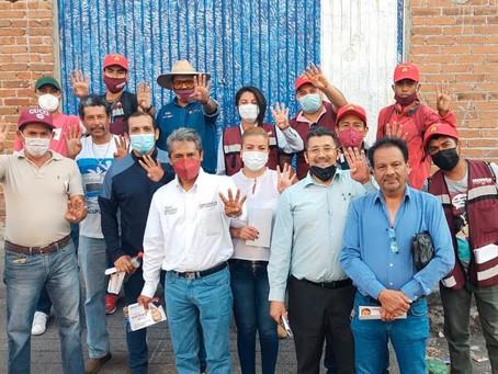 Profe Amparo continua pintando de guinda el distrito 10 - Análisis Plan Cluster
