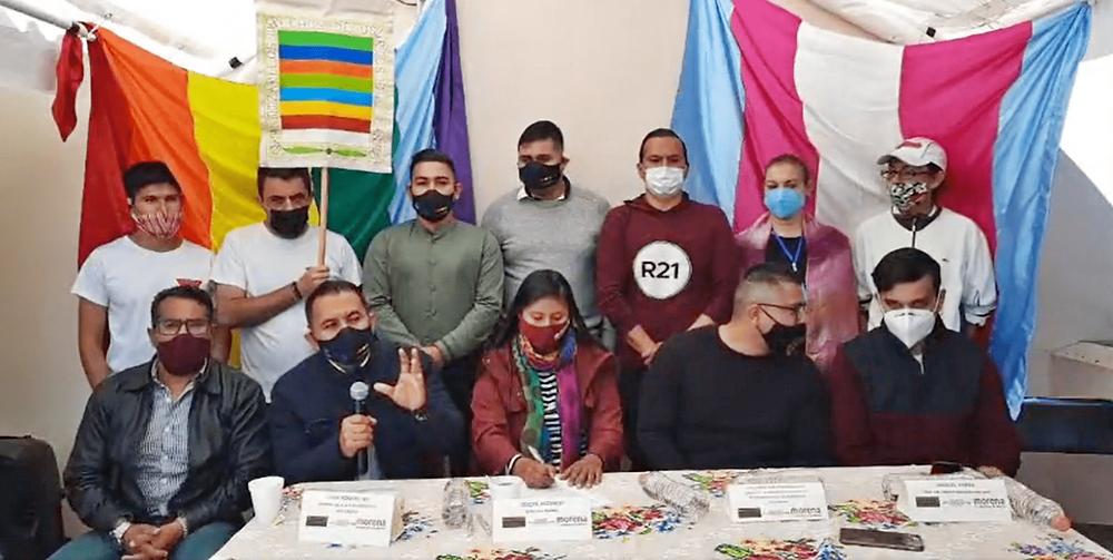 Regidor de Apatzingán pide a Morena inclusión de perfiles de la comunidad LGBT
