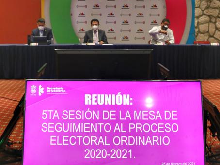 Quieren llevar a cabo un proceso electoral en Michoacán seguro contra el COVID-19