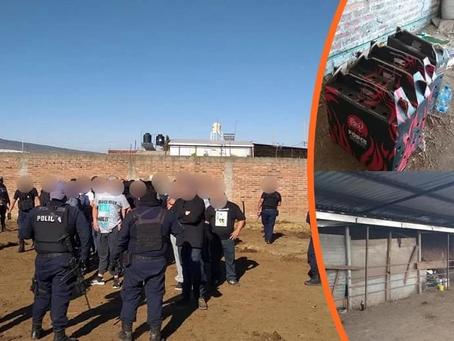 #Michoacán: A barandilla a 48 personas que participaban en una pelea de gallos (+Fotos)