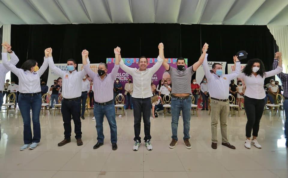 Se desbarata Morena, se suman 250 comités con Carlos Herrera: Equipo por Michoacán