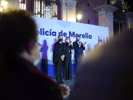 Gobierno de Morelia busca disminuir el 30 % de delitos con relanzamiento de la policía de proximidad