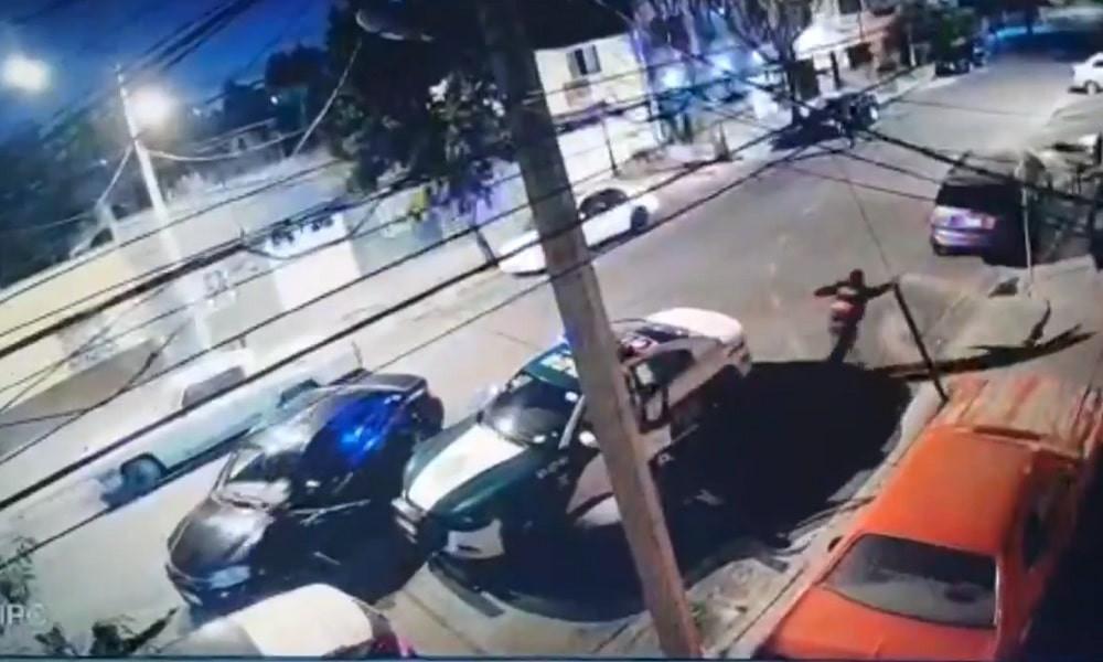 Acribillaron a joven durante balacera entre policías y delincuentes (+Video)