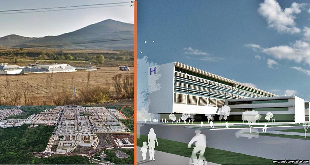 #Morelia: Anuncian mega proyecto para construir nuevo hospital del IMSS en el poniente de la ciudad