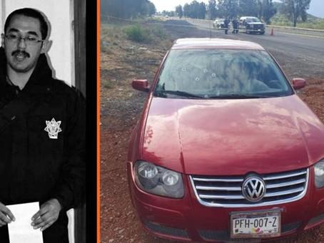 Asesinaron al titular de policía de Zamora en la Autopista del Occidente