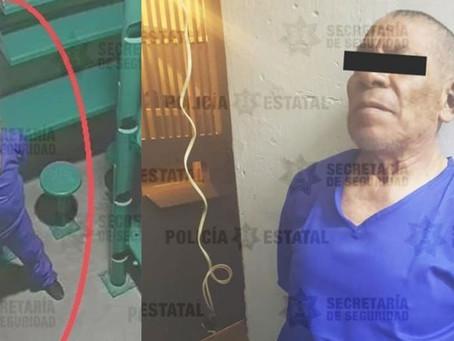 Reos intentan asesinar a Feminicida de Atizapán; es trasladado a penal Tenango