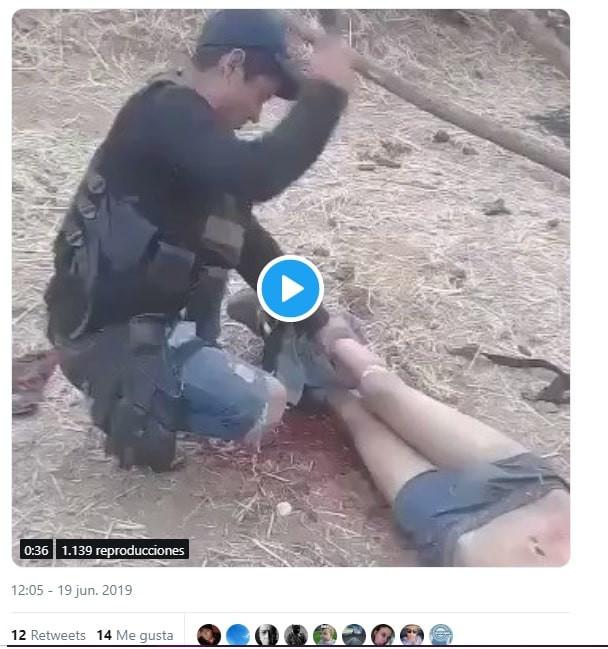 VIDEO   Sicarios descuartizan  a sujeto en #Michoacán