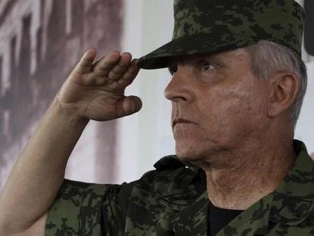 Salvador Cienfuegos fue detenido por distribución de narcóticos y lavado de dinero: Estados Unidos