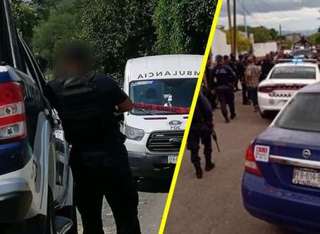 2 heridos y 1 muerto tras enfrentamiento entre policías y sicarios en Cuitzeo