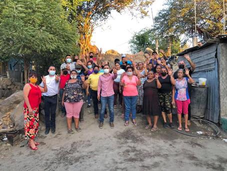 Juan Romero lleva más de 140 comités de defensa para la 4T en Apatzingán