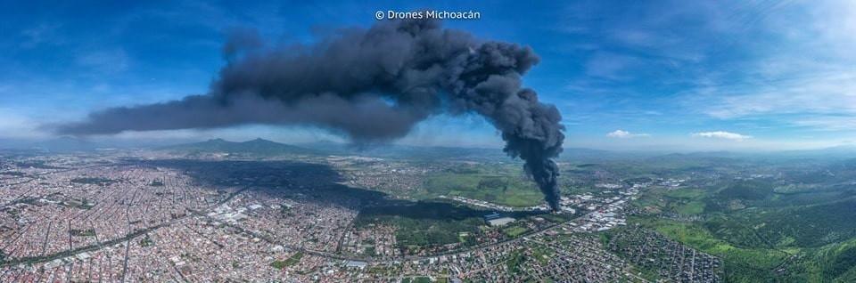Aviso Oficial: Tome estas precauciones por el incendio en #CiudadIndustrial