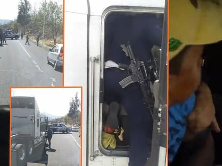 Morelia: Captan en video abuso de policías estatales contra una familia y su hijo; SSP ya investiga