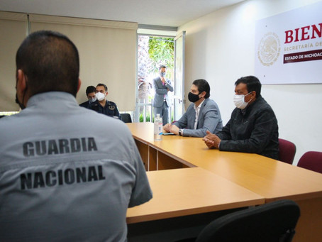 Coordinación, clave para garantizar la paz en Morelia: Alfonso Martínez