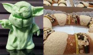Yumi, yumi, Panadería saca rosca de Reyes que en lugar de Niño Dios trae Baby Yoda