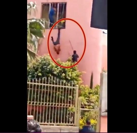 Video: Golpean como piñata a presunto delincuente en Tonalá, Jalisco