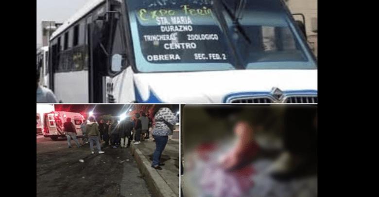 Pasa en #Morelia: Riña entre choferes del transporte público deja un herido grave