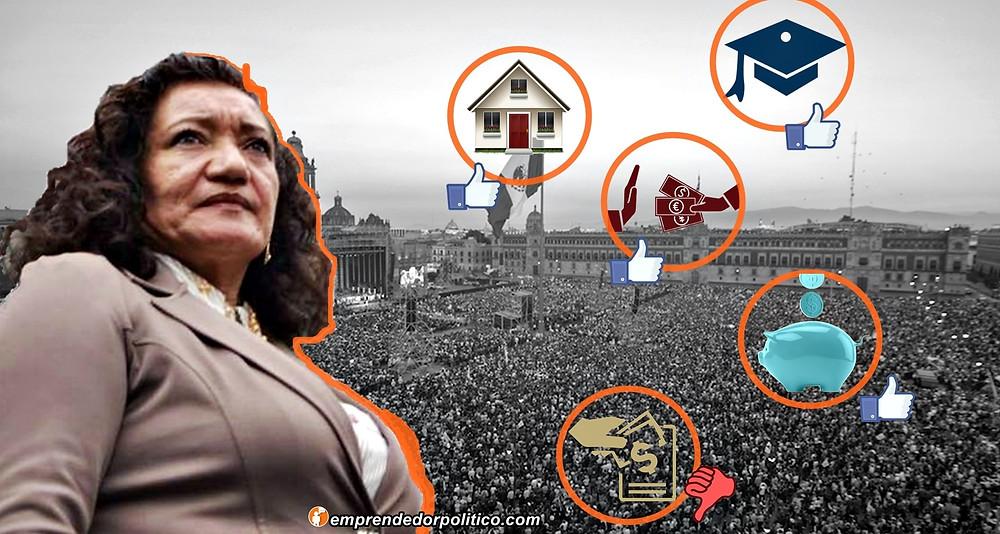 Austeridad republicana, anti-corrupción y Justicia, destaca María Chávez de la 4ta Transformación