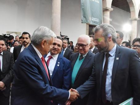 Con traslado del IMSS, AMLO reafirma su interés en Michoacán: Alfredo Ramírez