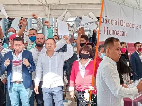 El Movimiento Social Obradorista de Michoacán avanza a piso firme para buscar el bienestar de todos