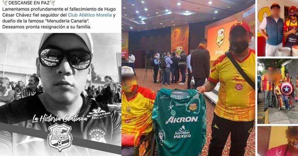 """Persona asesinada ayer Frente a la puerta de la UMSNH, dueño de """"Menudería Canaria"""""""