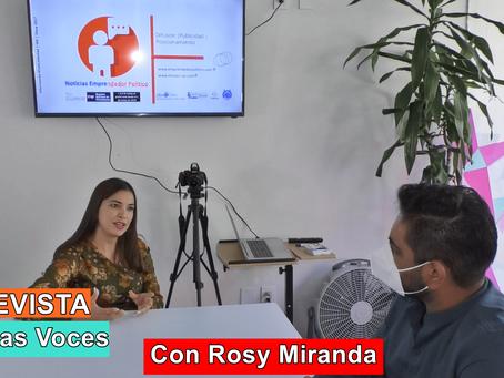 Conociendo a Rosy Miranda, liderazgo de Tacámbaro